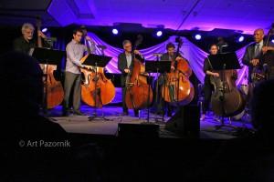 Six-Bass Salute to Howard Rumsey, © Art Pazornik
