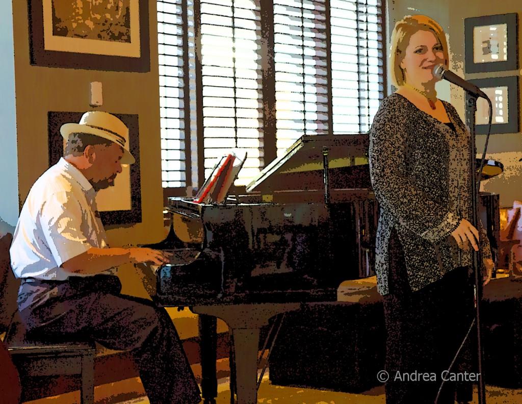 Rick Carlson and Maud Hixson, © Andrea Canter
