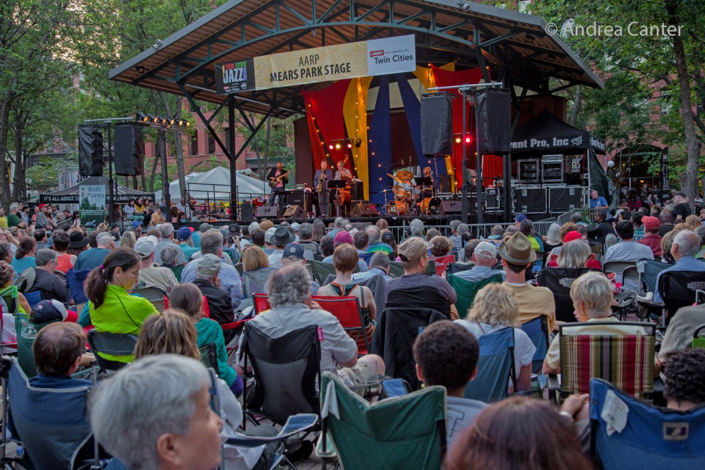 Twin Cities Jazz Festival at Mears Park , © Andrea Canter