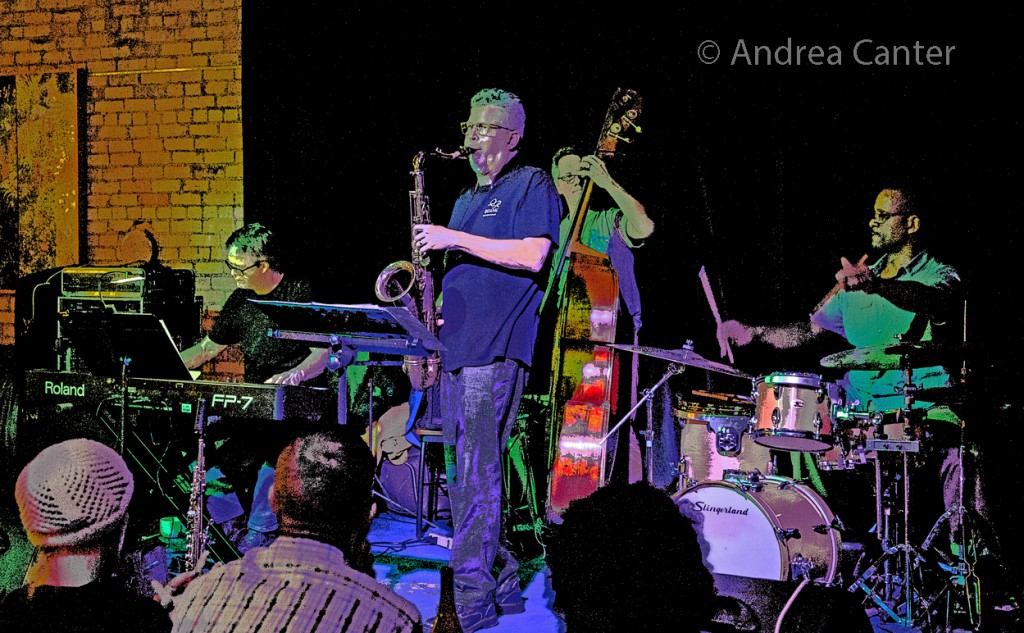 Paul Harper's Bardo Quartet, © Andrea Canter