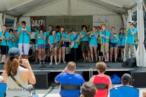 Jazz Around Minneapolis, Youth Showcase, © Andrea Canter