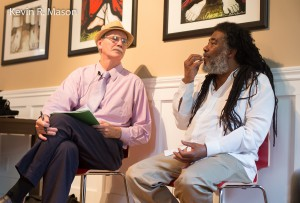 Professor Cornett and Wadada Leo Smith © Kevin R. Mason