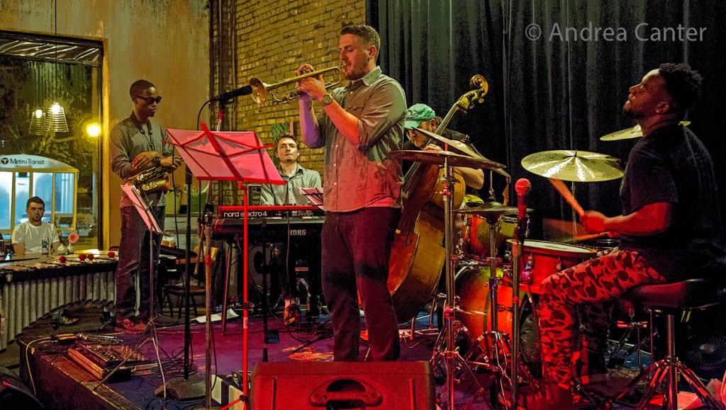 Rodney Ruckus ensemble at Reverie © Andrea Canter