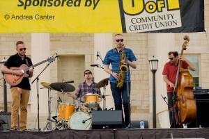 Atlantis Quartet (2015 Iowa City Jazz Festival) © Andrea Canter