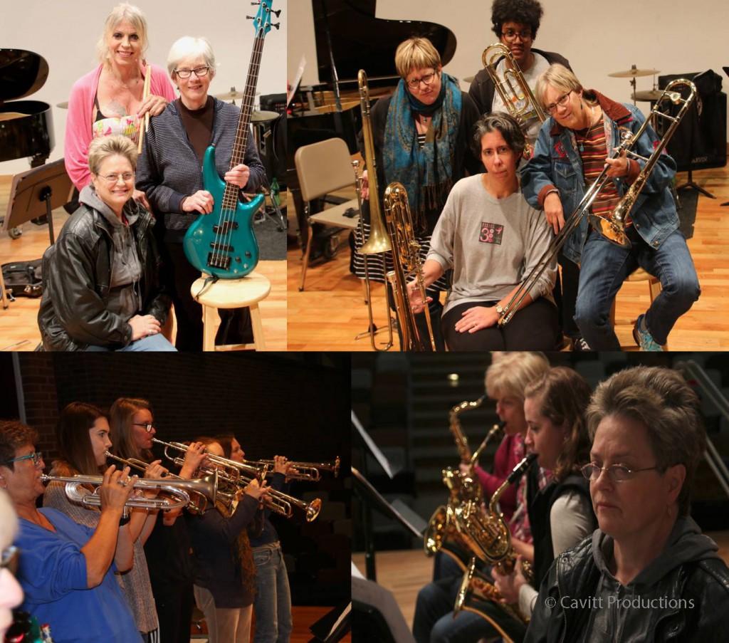 Swing Sisterhood (composite, photos by Cavitt Productions)