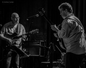 Mike Doolin and David Martin at the Icehouse © Andrea Canter