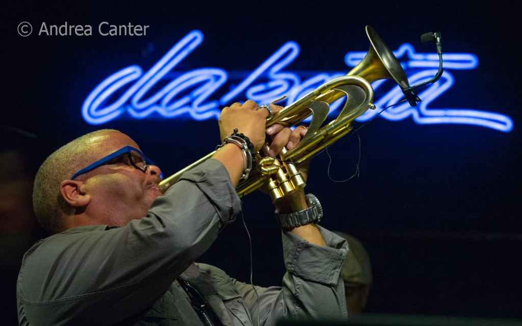 Terence Blanchard and E Collective, live recording at the Dakota, January 2-3, © Andrea Canter