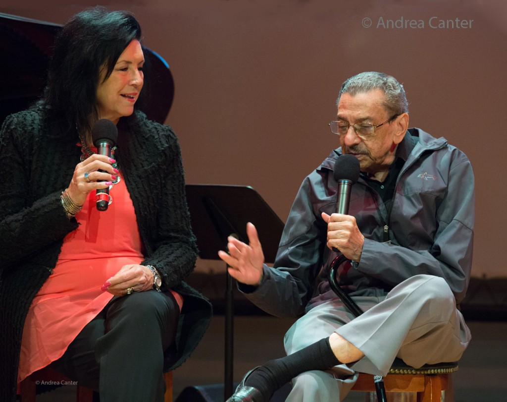 Patty Peterson Interviews Jimmy Hamilton, Minnesota Jazz Legends: The Elders © Andrea Canter